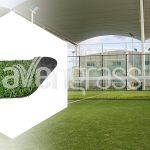 Les Caractéristiques De Construction Des Courts De Tennis De Gazon Padel Utilisé